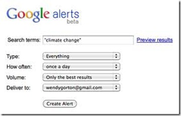 google alerts monitor